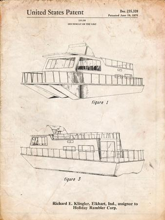 Houseboat Patent