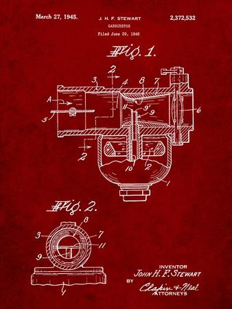 Indian Motorcycle Carburetor Patent