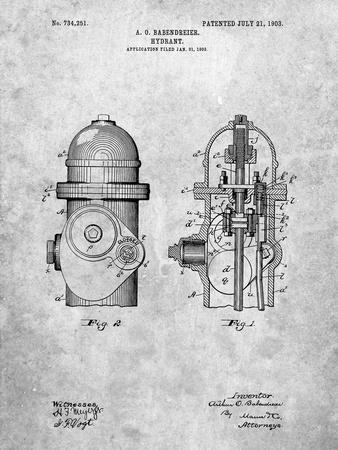 Fire Hydrant 1903 Patent