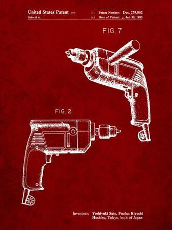 Ryobi Electric Drill Patent