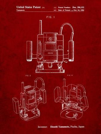 Ryobi Portable Router Patent