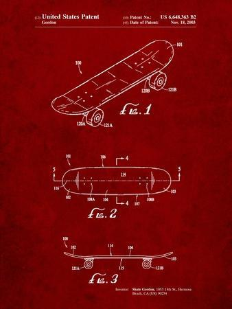 Double Kick Skateboard Patent