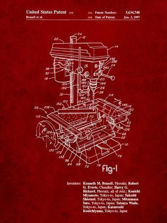Drill Press Patent