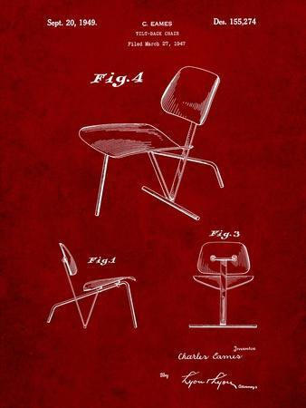 Eames Tilt Back Chair Patent