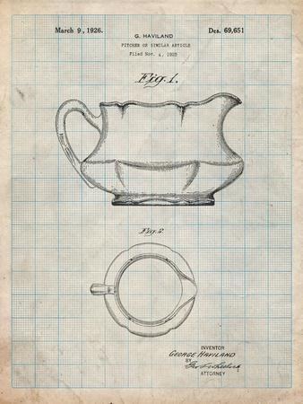 Haviland Basin Pitcher Patent