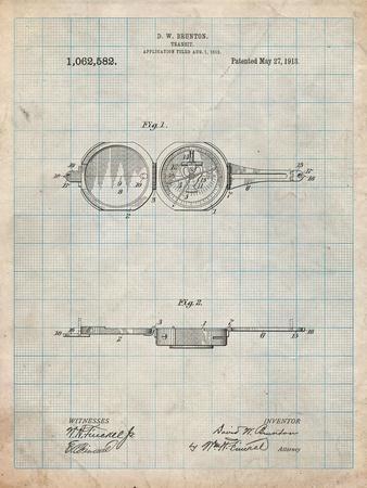 Pocket Transit Compass 1919 Patent