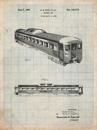 Railway Passenger Car Patent