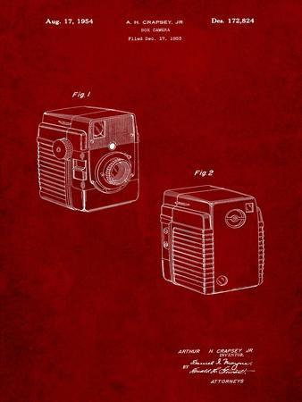 Kodak Brownie Bullseye 1954 Patent
