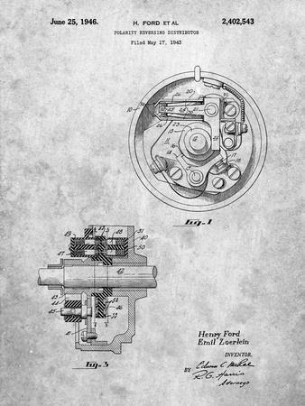 Ford Distributor 1946 Patent