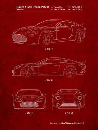 Aston Martin V-12 Zagato Patent