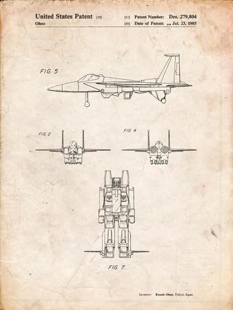 Starscream Transformer Patent