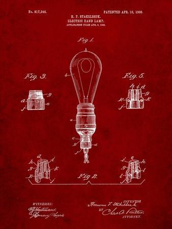 Large Filament Light Bulb Patent