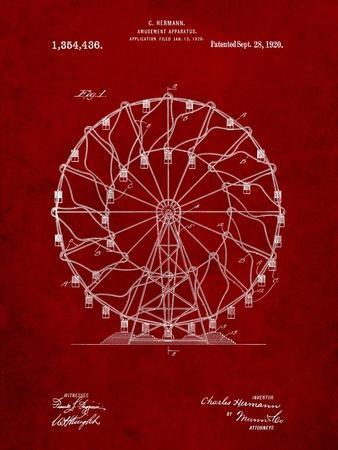 Ferris Wheel 1920 Patent