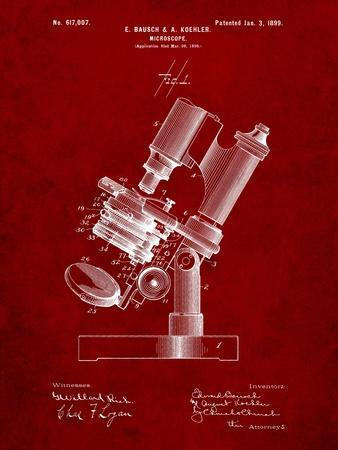 Bausch and Lomb Microscope Patent