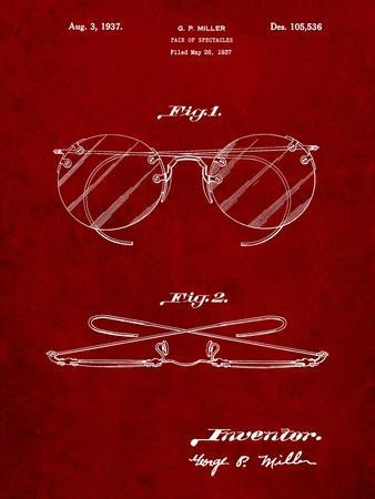 Eyeglasses Spectacles Patent