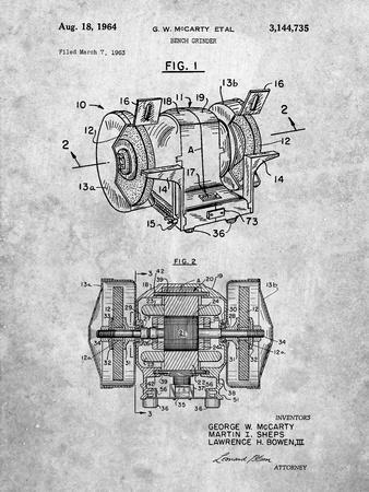 Bench Grinder Patent