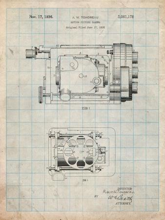 Motion Picture Camera 1932 Patent