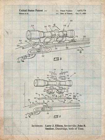 Black Powder Rifle Scope Patent