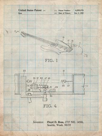 Floyd Rose Tremolo Patent