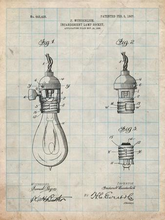 Incandescent Lamp Socket Patent