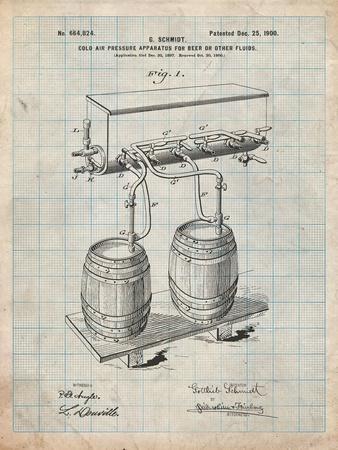 Beer Keg Cold Air Pressure Tap