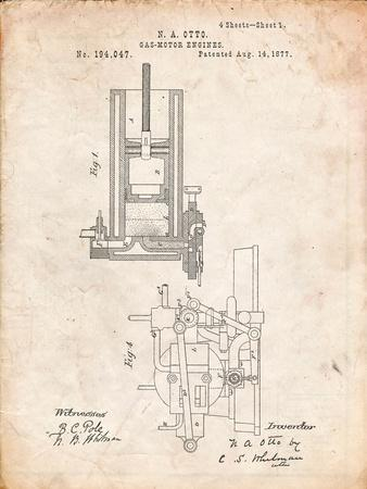 Combustion Engine Patent 1877