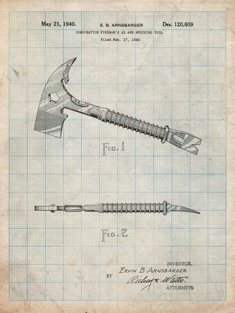 Fireman's Axe 1940 Patent