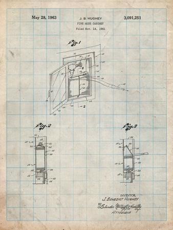 Fire Hose Cabinet 1961 Patent