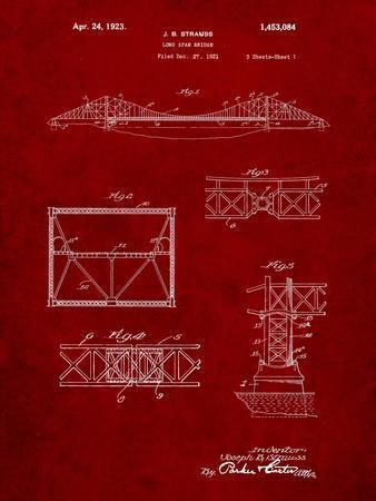 Golden Gate Bridge Patent, Long Span Bridge