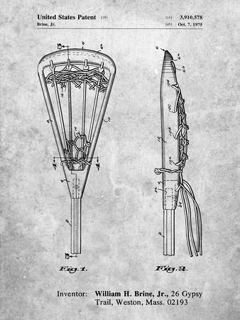 Lacrosse Stick 1936 Patent