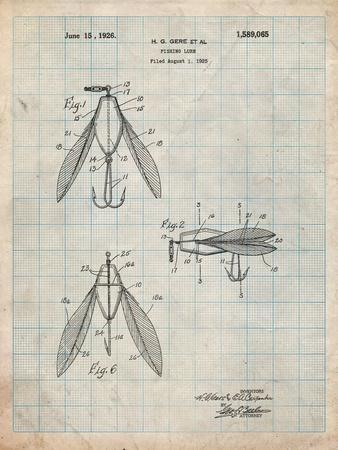 Surface Fishing Lure Patent