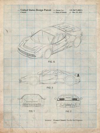 Ferrari 2012 Sp12 Patent
