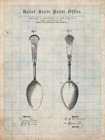 Osiris Sterling Flatware Spoon Patent