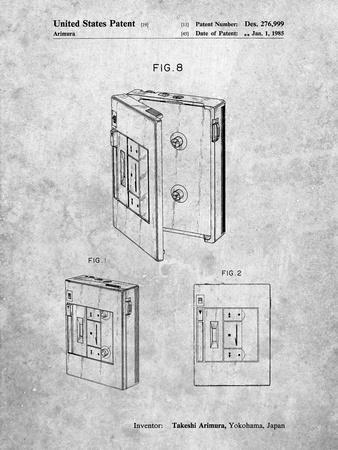 Toshiba Walkman Patent
