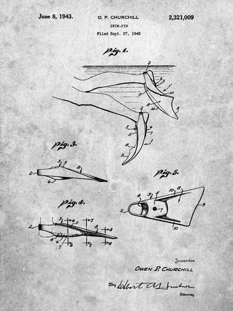 Swim Fins Patent