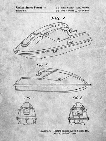 Suzuki Wave Runner Patent
