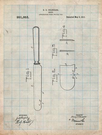 Dinner Knife Patent