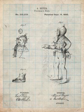 Firefighter Suit 1880 Patent