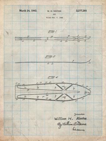 Metal Skis 1940 Patent