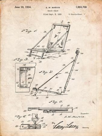 Beach Chair Patent