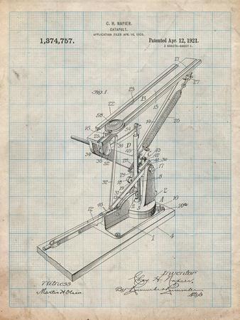 Catapult Patent 1921