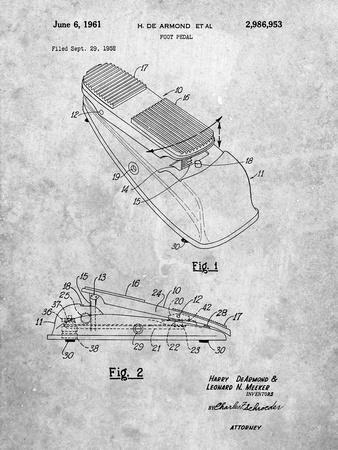 Horace N Rowe Wah Pedal Patent