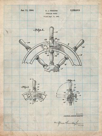 Ship Steering Wheel Patent