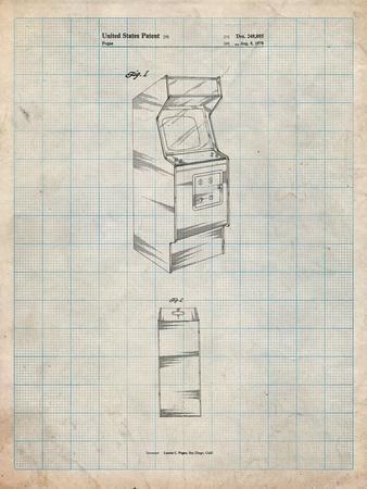 Arcade Game Cabinet Patent