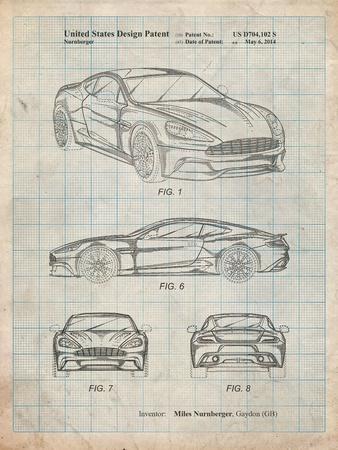 Aston Martin D89 Carbon Edition Patent