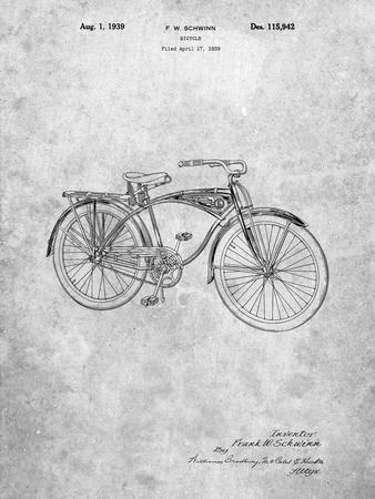 Schwinn 1939 BC117 Bicycle Patent