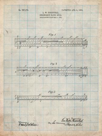 Engineer's Slide Rule Patent