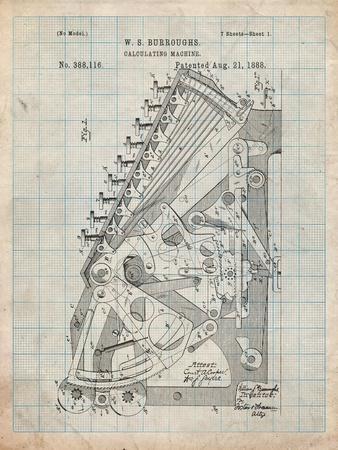 Burroughs Adding Machine Patent
