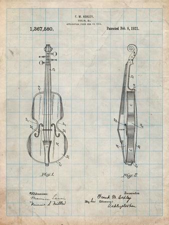 Frank M. Ashley Violin Patent