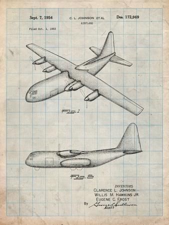 Lockheed C-130 Hercules Airplane Patent